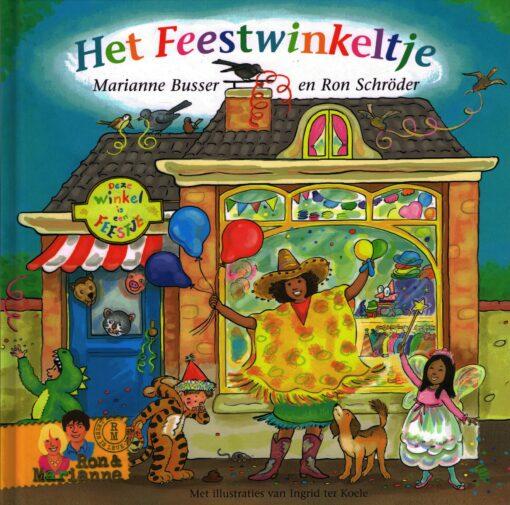 Het feestwinkeltje - 9789048843473 - Marianne Busser