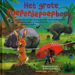 Het grote poeperdepoepboek - 9789048845606 - Marianne Busser