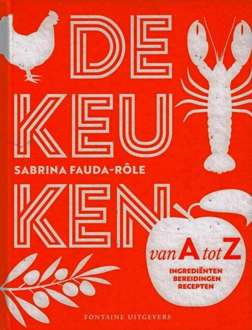 De keuken van A tot Z - 9789059568181 - Sabrina Fauda-Rôle