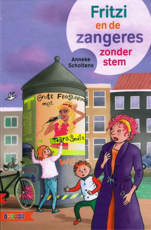 Fritzi en de zangeres zonder stem - 9789048729968 - Anneke Scholtens