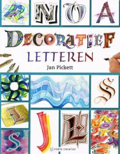 Decoratief letteren - 9789462501546 - Jan Picket