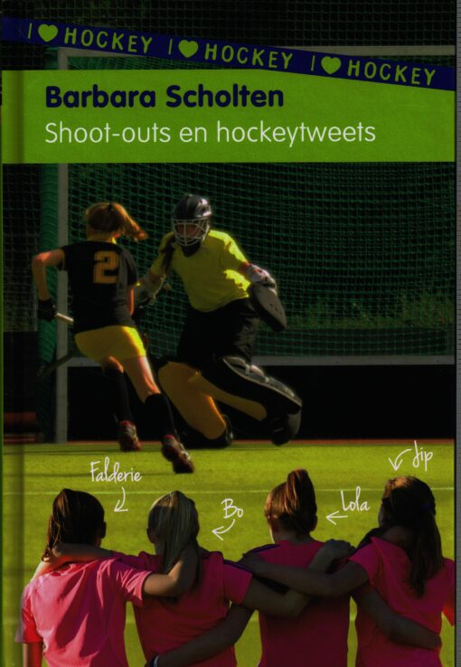 Shoot-outs en hockeytweets - 9789021675381 - Barbara Scholten