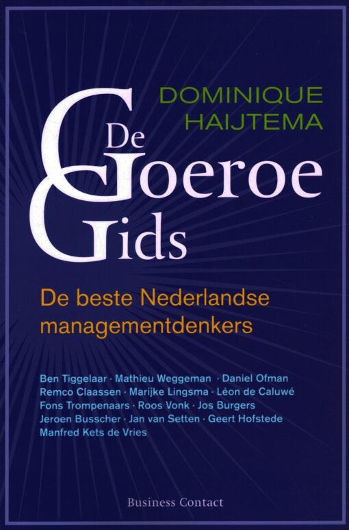 De Goeroegids - 9789047003885 - Dominique Haijtema