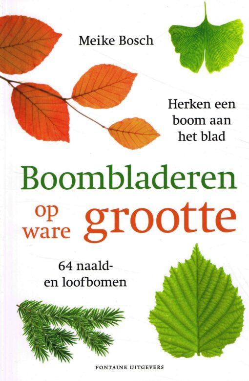 Boombladeren op ware grootte - 9789059568419 - Meike Bosch