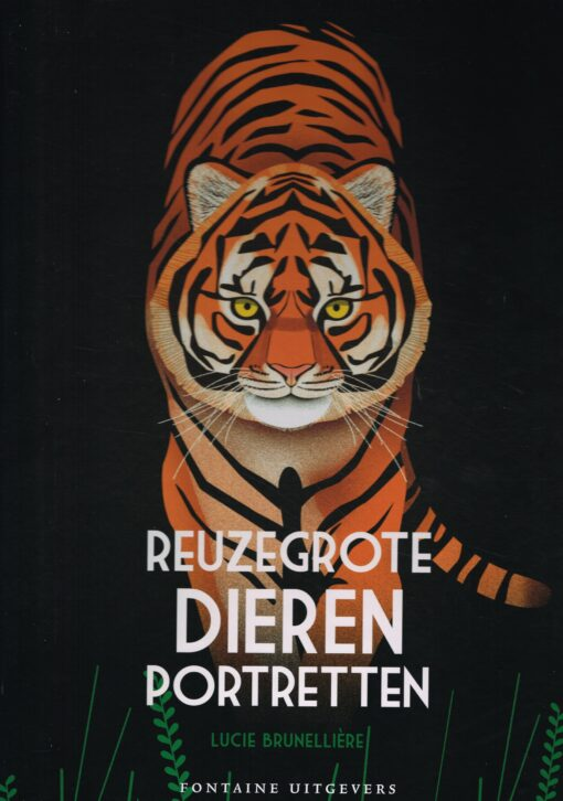 Reuzegrote dierenportretten - 9789059569690 - Lucie Brunellière