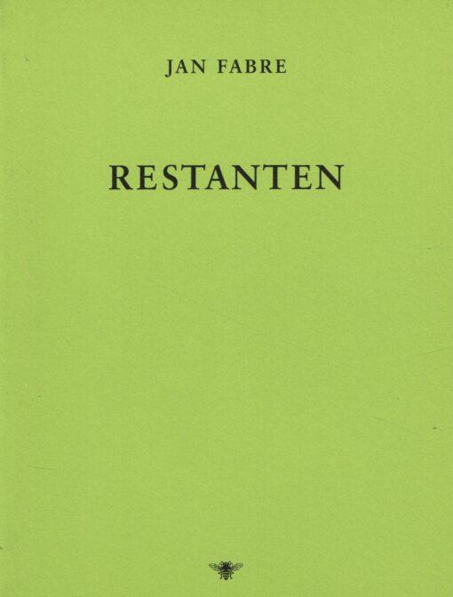 Restanten - 9789023495215 - Jan Fabre