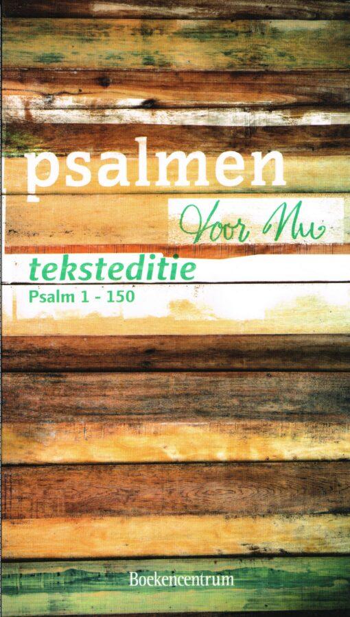 Psalmen voor nu - 9789023968603 - Menno van der Beek