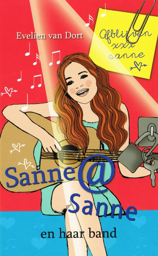 Sanne @ Sanne en haar band - 9789026622403 - Evelien van Dort