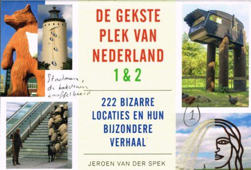 De gekste plek van Nederland - 9789049806491 - Jeroen van der Spek